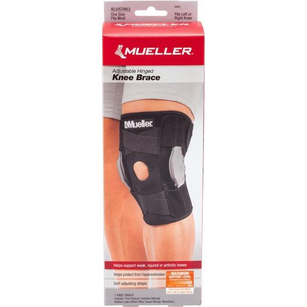 daec9054c7 Mueller Knee Brace, Adjustable Hinged, One Size (1.00 ea) from Fry's -  Instacart