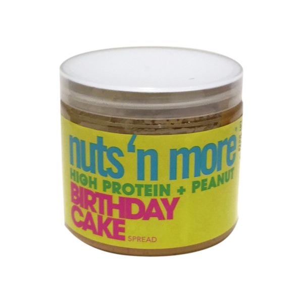Nuts More High Protein Peanut Butter Birthday Cake Spread