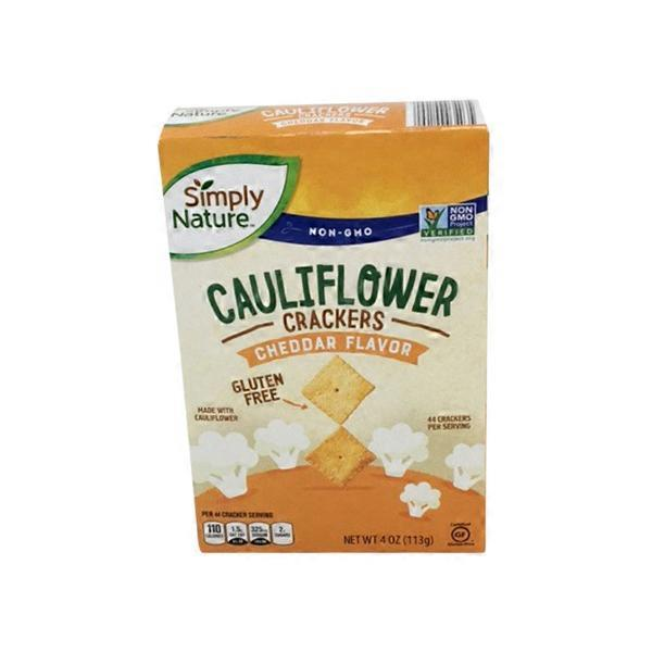 Simply Nature Cauliflower Cracker - Cheddar (4 oz) from ALDI
