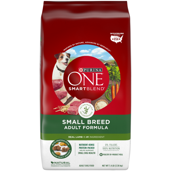 Purina One Natural Small Breed Dry Dog Food Smartblend