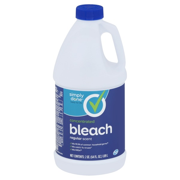 Simply Done Bleach, Concentrated, Regular Scent