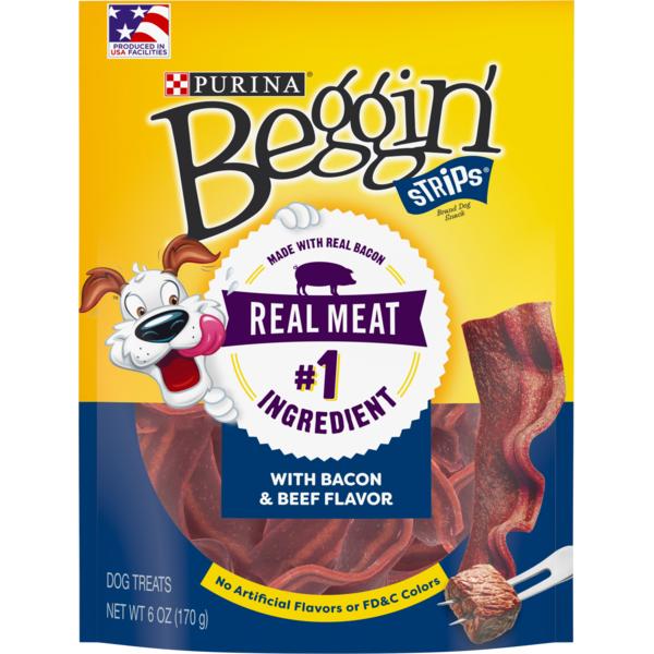 Beggin' Strips Purina Bacon & Beef Flavors Dog Treats