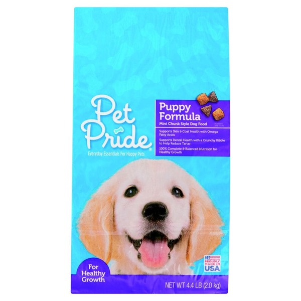 Pet Pride Puppy Formula Dry Dog Food (4 4 lb) from Fry's - Instacart