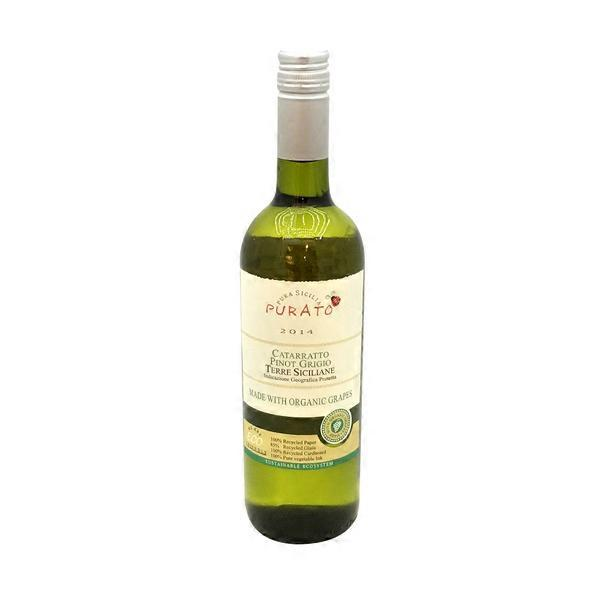 Purato 2013 Catarratto Pinot Grigio 750 Ml Instacart