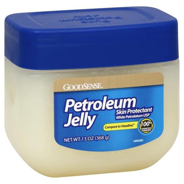 GoodSense Petroleum Jelly, Skin Protectant, White Petrolatum