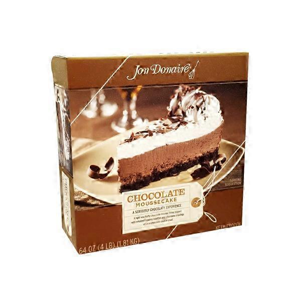 Jon Donaire Chocolate Mousse Cake 64 Oz From Smart