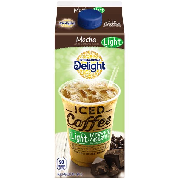 International Delight Mocha Light Iced Coffee 0.5 Gal