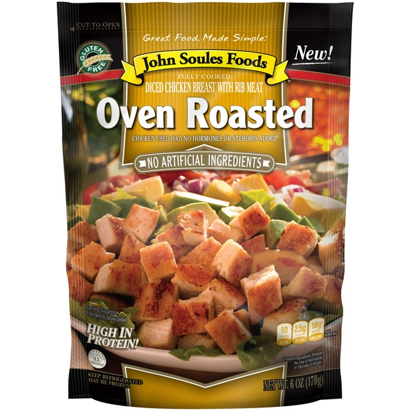 John Soules Foods Oven Roasted Oven Roasted Diced Chicken From Food