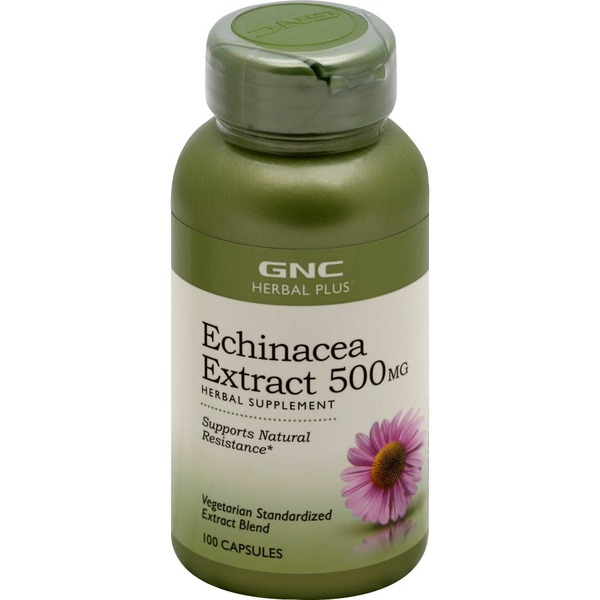 Gnc Echinacea Extract 500 Mg Capsules 100 Each Instacart