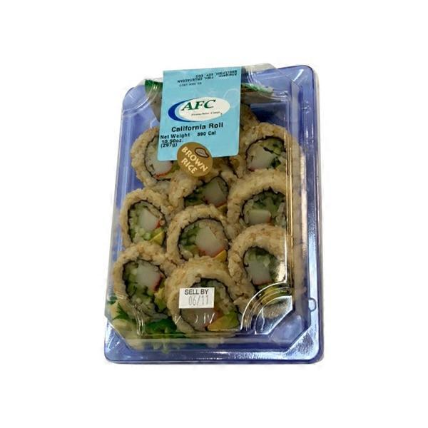 S Tsunami Ready To Eat Sushi California Roll 10 5 Oz From