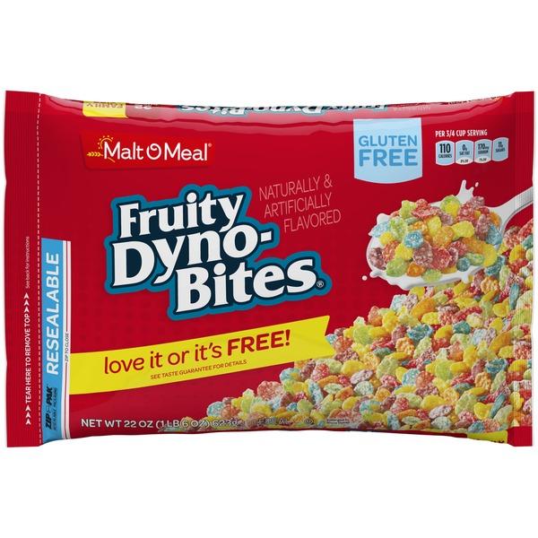 Malt-O-Meal Fruity Dyno-Bites Cereal (22 oz) from Safeway