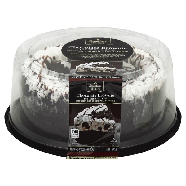 Terrific Signature Kitchens Ice Cream Cake Chocolate Brownie 40 Oz From Funny Birthday Cards Online Unhofree Goldxyz