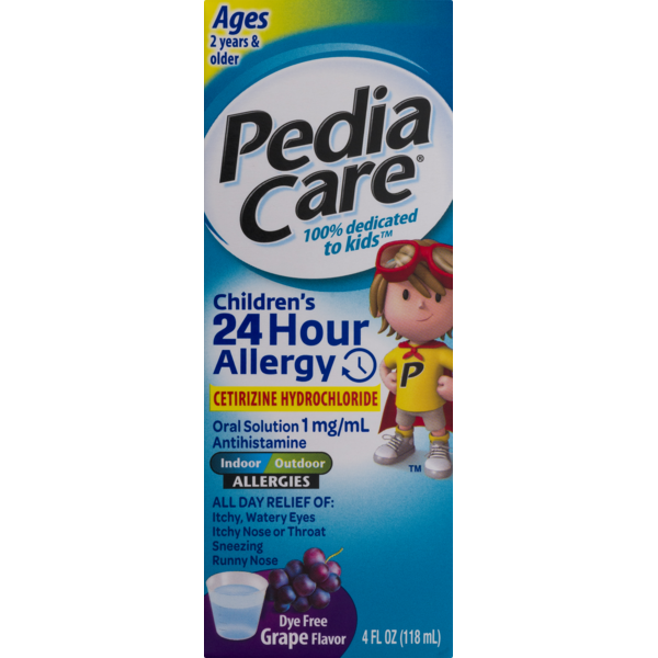 PediaCare Children's 24 Hour Allergy Oral Solution Ages 2 Years