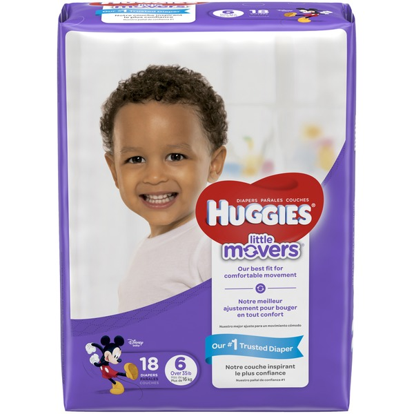 Best Diapers 2020 Huggies Little Movers Diapers (18 ct) from Publix   Instacart