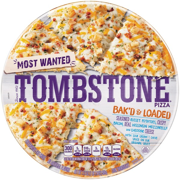 Tombstone Most Wanted Bak'd & Loaded Frozen Pizza from Food