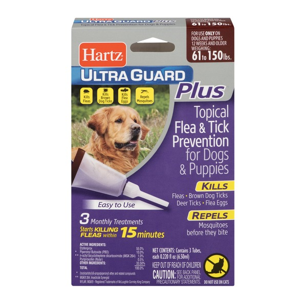 Hartz Ultra Guard Plus Topical Flea Tick Prevention For Dogs And