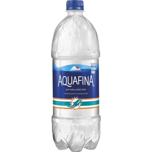 Aquafina Water 1 Liter Plastic Bottle 1 Package From Food Lion