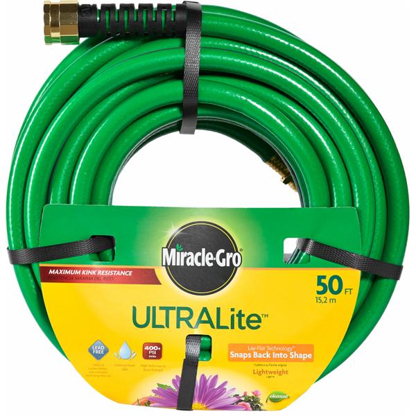 MiracleGro 5 x 50 UltraLite Lightweight Garden Hose each from