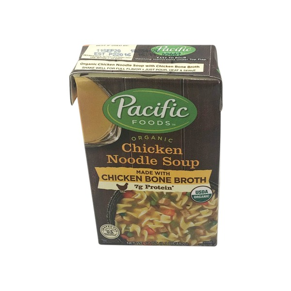 Pacific Organic Chicken Noodle Pacific Foods Organic Chicken Noodle