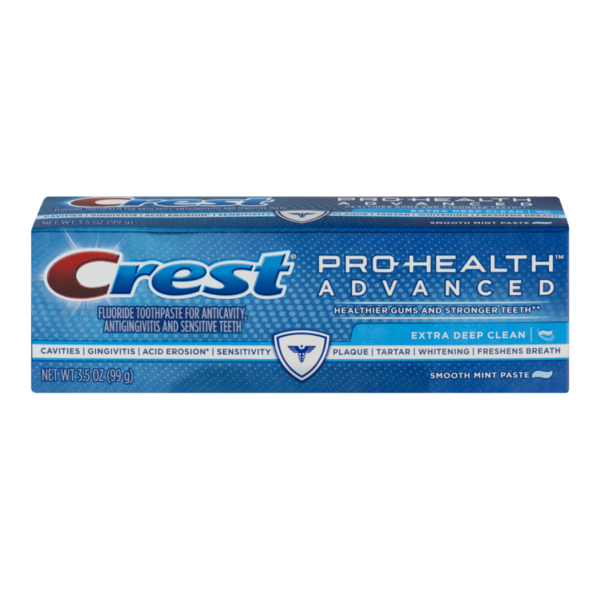crest pro health invigorating clean mouthwash chunks