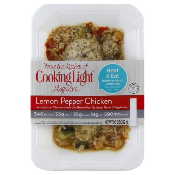 Cooking Light Lemon Pepper Chicken