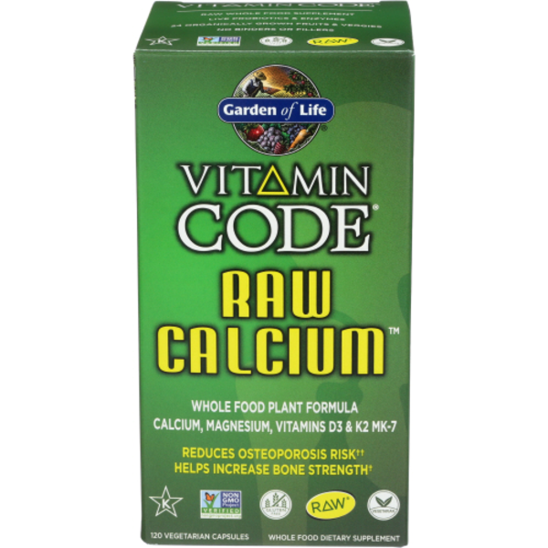 Garden of Life Vitamin Code Raw Calcium from New Leaf Community ...