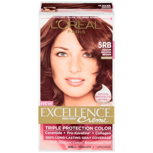 Excellence Creme 5rb Medium Reddish Brown Hair Color From Kroger