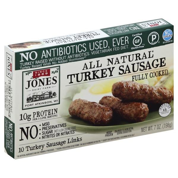 recipe: jones turkey sausage nutritional information [18]