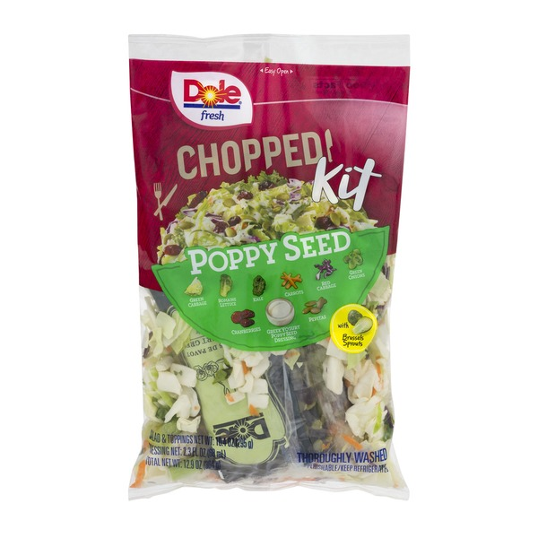 dole chopped salad kit poppy seed from kroger instacart