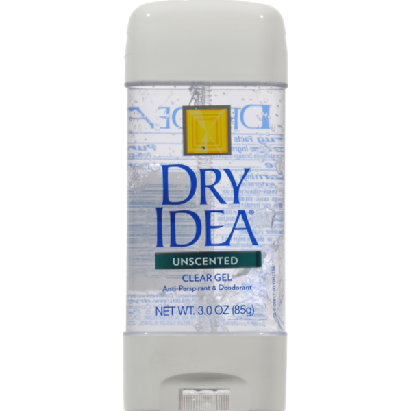 Dry Idea Advanced Dry Clear Gel Unscented Antiperspirant Deodorant