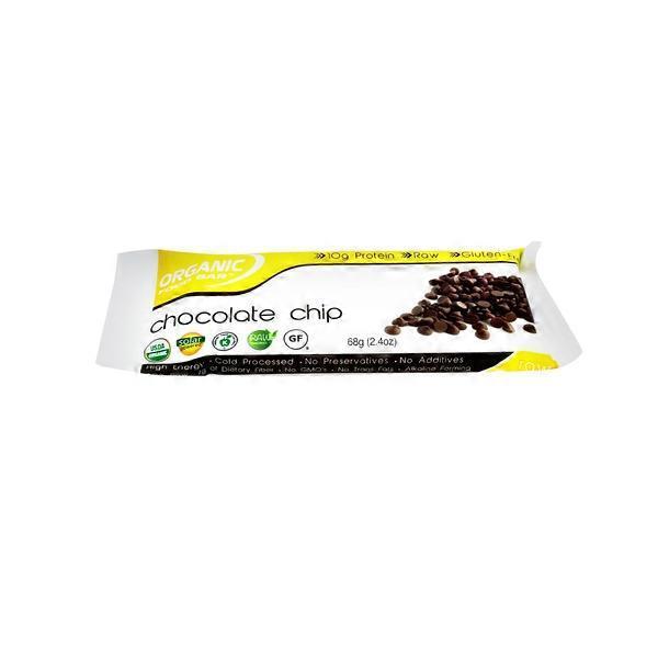 Organic Food Bar Belgium Chocolate Chip 24 Oz From Bianchinis