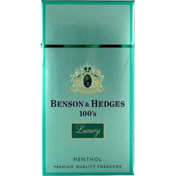 Image result for benson & hedges menthol
