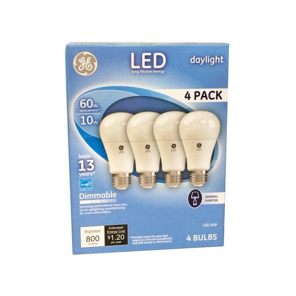 Bulb Light Daylight4 Aline Led Giant Food CtFrom Ge 60watt GpqzMSUV