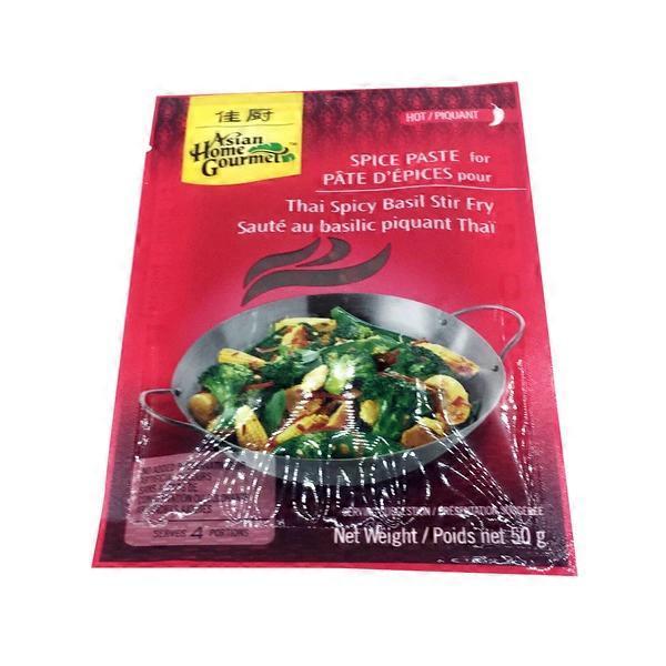 Asian vegetarian stirfry hab