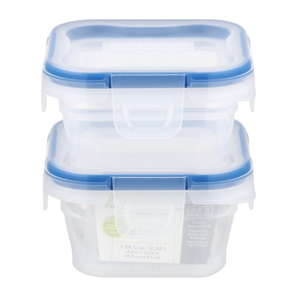 Snapware 134 Cup Plastic Food Storage 2 CT from Kroger Instacart