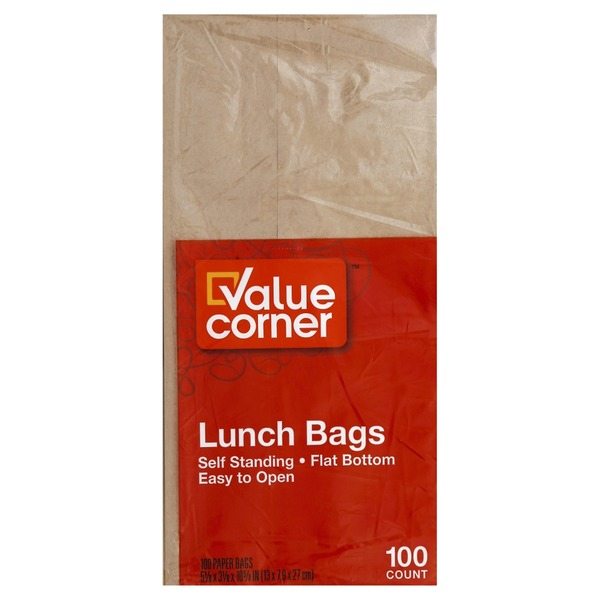 0fa2aad6103b Pantry Essentials Paper Lunch Bags (100 ct) from Safeway - Instacart