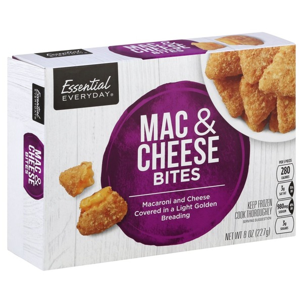 Essential Everyday Mac Cheese Bites 8 Oz Instacart