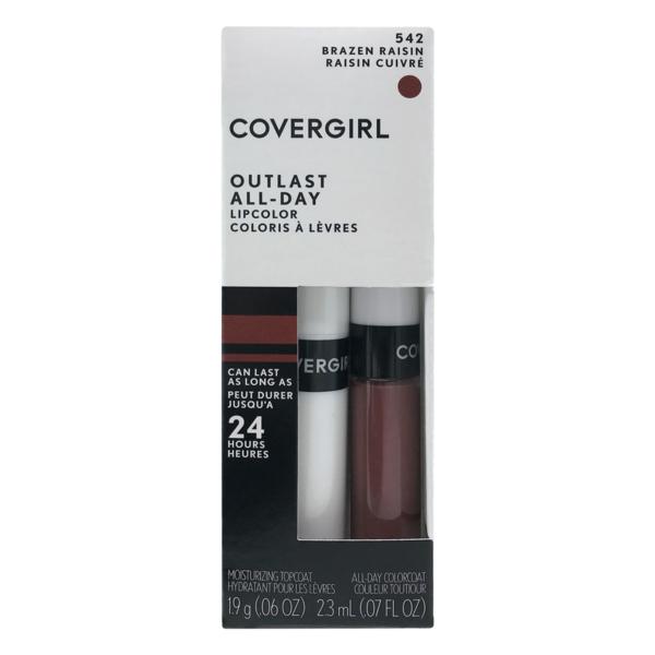 99d10fe3cb5f CoverGirl Outlast All-Day Lipcolor 542 Brazen Raisin (1 ct) from ...