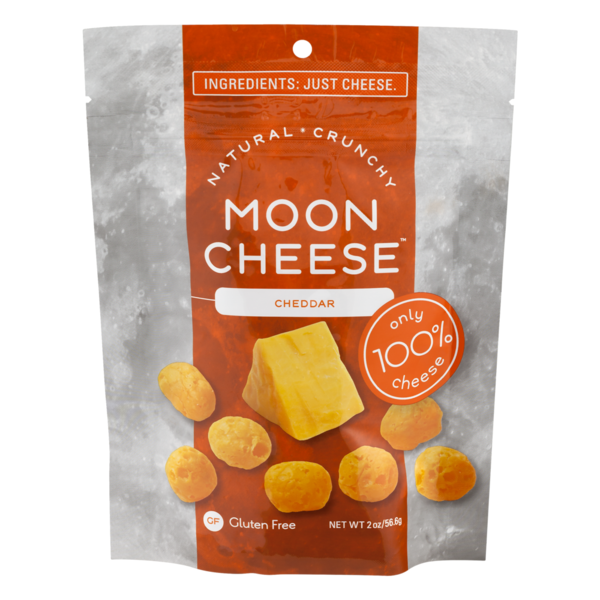 Moon Cheese Snack Cheddar (2 oz) from Rainbow Grocery