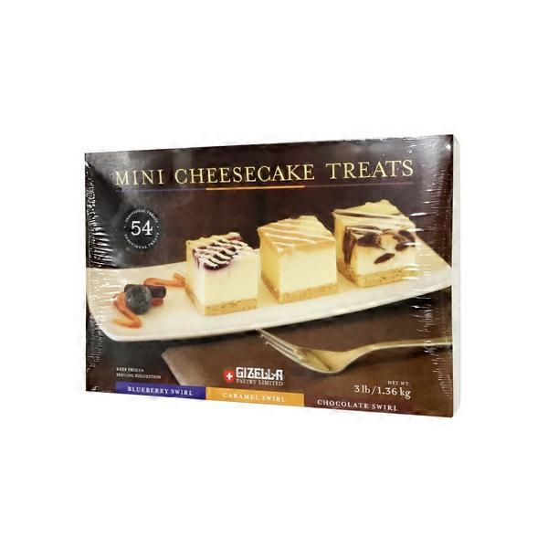 Gizella Pastry Limited Mini Cheesecake Treats Blueberry
