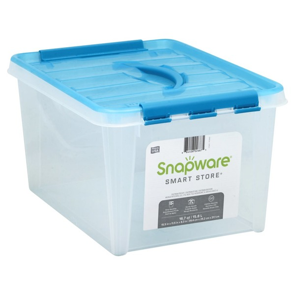 Bon Snapware Storage Container, 16.7 Quart