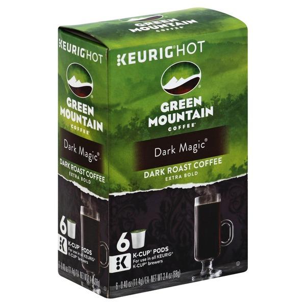 green mountain coffee dark magic extra bolds