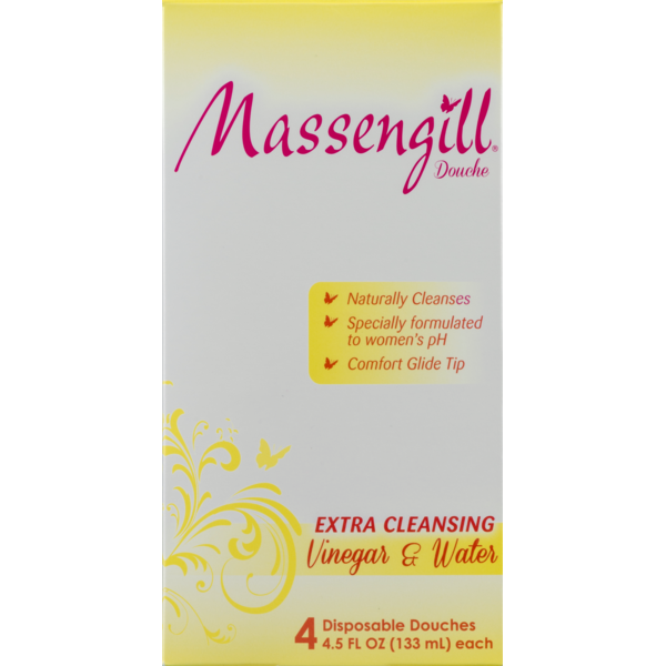 Massengill Disposable Douches Extra Cleansing Vinegar