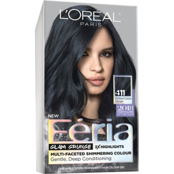 Feria 411 Downtown Denim Hair Color From Fred Meyer Instacart