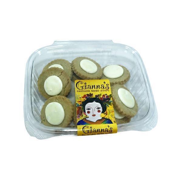 Gianna's Handmade Baked Goods Lemon Frosted Sugar Cookies