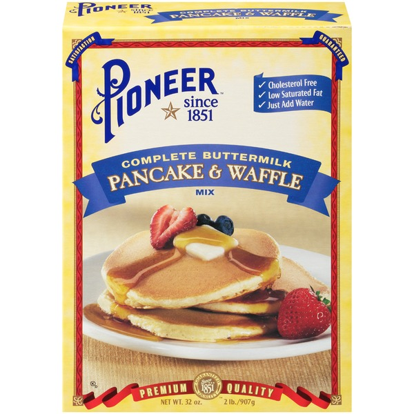 Pioneer Brand Complete Buttermilk Pancake Waffle Mix From Kroger