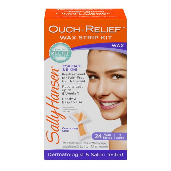 Sally Hansen Ouch-relief Wax Strip Kit (24 ct) from Hy-Vee