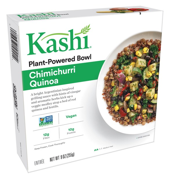 Kashi Frozen Entree Chimichurri Quinoa