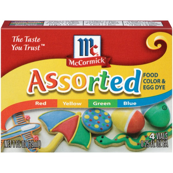 McCormick® Assorted Food Color & Egg Dye (1 fl oz) from Wegmans ...