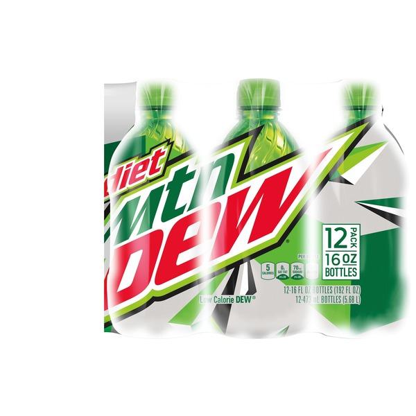 Mtn Dew Diet Soda (16 fl oz) from Kroger - Instacart